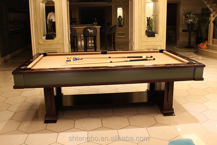 American Style Standard Size Billiard Table Dimension Pool Table Dimensions