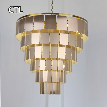 high ceiling large hanging pendant lights modern design decorative