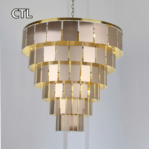 Nordic style living room pendant light wedding table centerpieces modern luxury empire chandelier