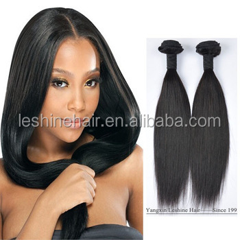 Hot Sale Straight Raw Unprocessed Human Wholesale Virgin Brazilian Hair Extension