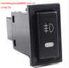 Black Switch Automobile Car Self Lock Fog Light Rocker Switch Button for Camry