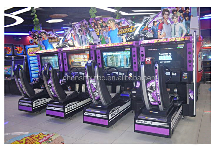 Initial D Arcade Coin Operated Initial D7 Racing Games ...