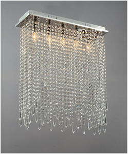Rectangle Crystal Ceiling Light Fixture Stained Glass Lamp Wholesale MD10039