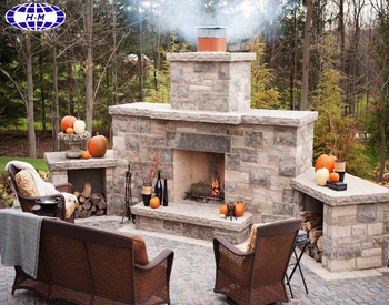 Outdoor Use Artificial Wood Burning