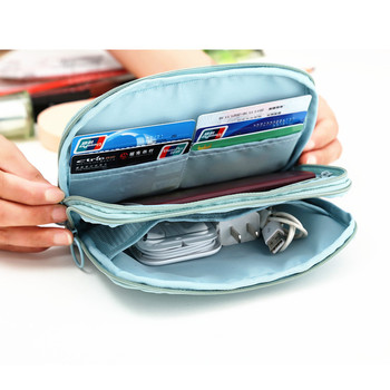 Double Layer Waterproof Travel Passport Holder