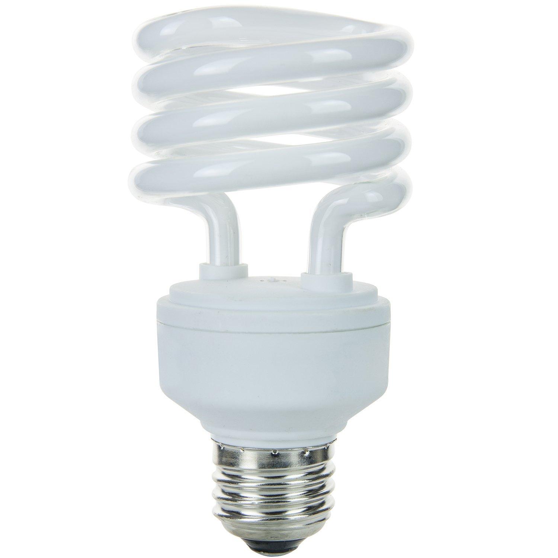 Sunlite SMS13//41K SMS13//41K 13-watt Super Mini Spiral Energy Saving Medium Base CFL Light Bulb Cool White