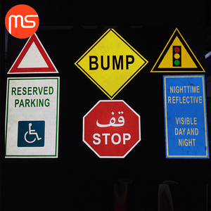 Manufacturer's price road safety traffic sign