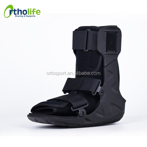 Anterior Cut-Out Design Foot Boot Cast For Broken Ankle
