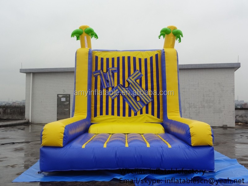 PK Best Selling Commercial Inflatable Products Inflatable Sticky Wall For Sport Games