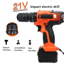 Reliable quality hammer battery electric 18v cordless drill