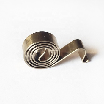 Sandingsheng customized stainless steel 301 flat coil constant force spring