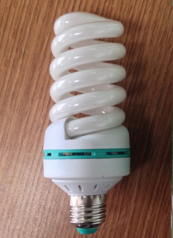 14w no cover Ccfl Spiral Light Bulbs