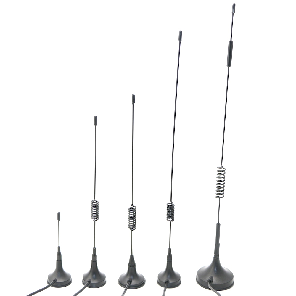 800 900 868 1800 2100 2700 MHz High Gain SMA RG174 GSM External Spring Magnetic Sucker <strong>Antenna</strong>