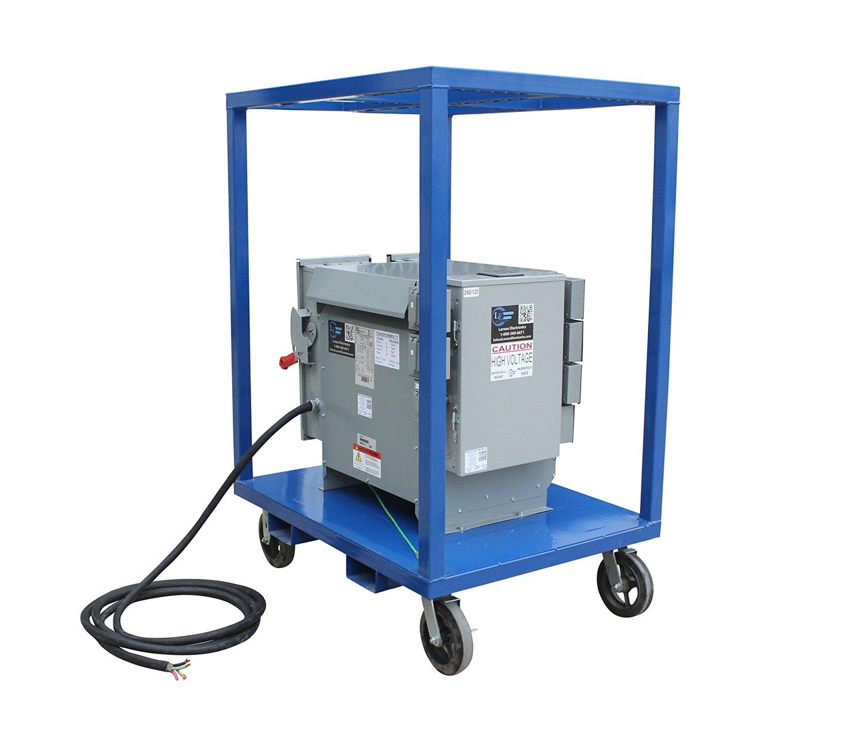 Larson Electronics 0328OKH0F3S Power Substation - 30 Kva - 480V AC To 10 x 120V AC & 2 x 240V AC Outlets with Gfci - 480V Feed Thru