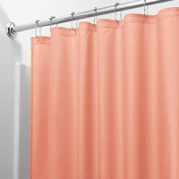 China Manufacturer bathroom shower curtain peva fabric