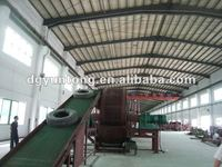 energy consuming scrap tyres recycling machinery