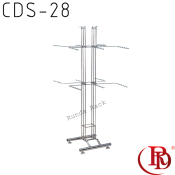 underwear hanging display rack/4 upright 3 prong underwear rack