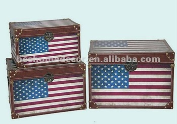 American flag wooden box wood trunk storage box  sc 1 st  Alibaba & American Flag Wooden BoxWood TrunkStorage Box - Buy Storage Box ...