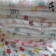 new coming Wholesale cotton Blanket Soft Oversized Printed muslin Plush Throw Blanket