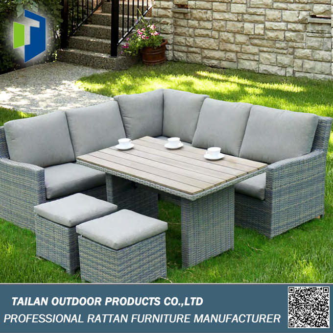 outdoor sofa gesetzt ecksofa garten sofa set wicker gartenm bel set im garten produkt id. Black Bedroom Furniture Sets. Home Design Ideas