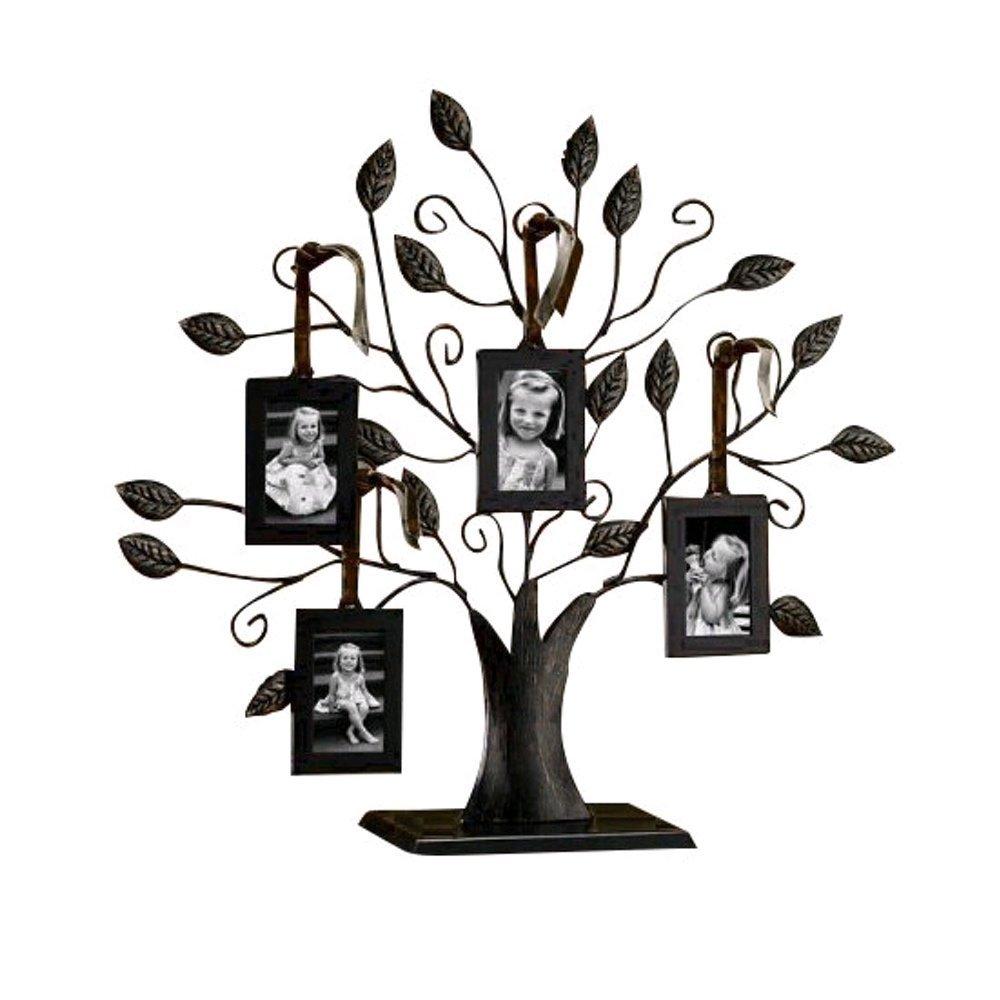 Buy Table Top Photo Frame, DEFAITH Black Iron Family Tree Photo ...