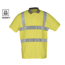 OEM hallo vis herren polo <span class=keywords><strong>shirt</strong></span> 3 Mt reflektierende orange fluoreszierend t-<span class=keywords><strong>shirt</strong></span>