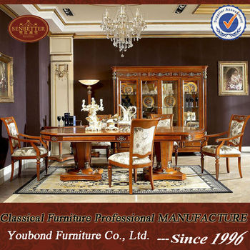 2014 Classic Furniture 0029 Long Dining Table , Classic Italian Dining Room  Sets