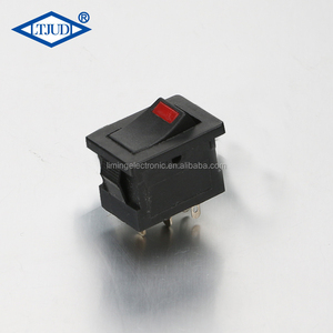 6a 125v power tool electrical safety led miniature rocker switch