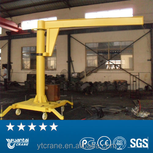 Manual do portal mini jib crane 0.5 ton