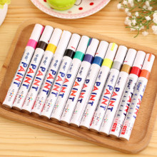 Auto Paint Erasable pen Permanent Window Pen Skin Marker water-proof Color Deep