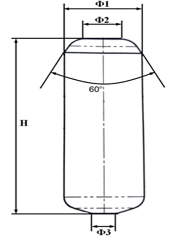 HPGR carbide stud