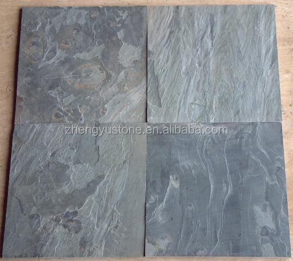 Revestimiento de piedra azulejo gris pizarra natural - Revestimiento de piedra natural precios ...