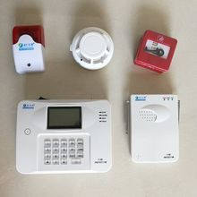 GSM PSTN dual network auto dial and SMS home burglar security alarm system wireless fire alarm system