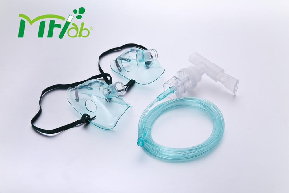 High quality Medical Disposable Soft Adult PVC Nebulizer Kit with CE & ISO
