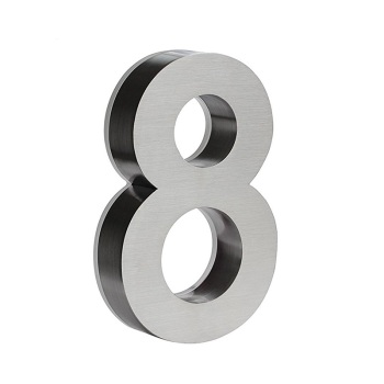 3D room door number plate and house number