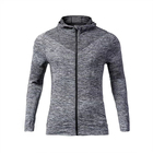 Custom Men Bulk Gym Sports Hoodie Jacket Pullover Sweatshirt