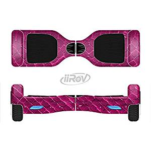 The Pink Snake Skin Texture Full-Body Wrap Skin Kit for the iiRov HoverBoards and other Scooter (HOVERBOARD NOT INCLUDED)
