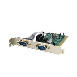 Netmos 9835 NM 9865 Chipset Syba SD-PCI-2S PCI 32-Bit 2x Port Serial DB9 Card