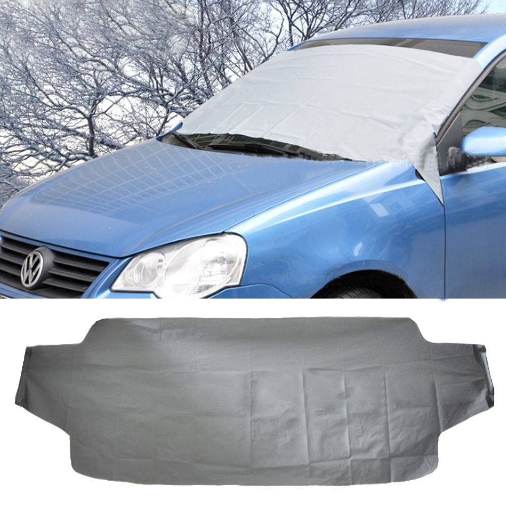 car anti snow sunscreen anti rain winter car covers automobile front windshield glass sun shade. Black Bedroom Furniture Sets. Home Design Ideas