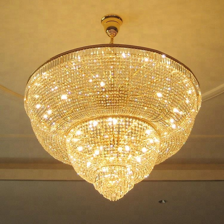Zhongshan Modern Style Crystal Luxury Chandeliers For Christmas Decor