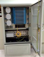144 Fibers Fiber Optic Distribution Cabinet
