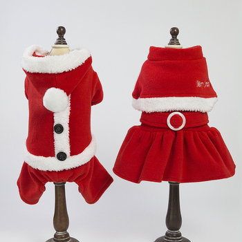 Lovoyager Christmas dog clothing for winter designer dog clothes Christmas