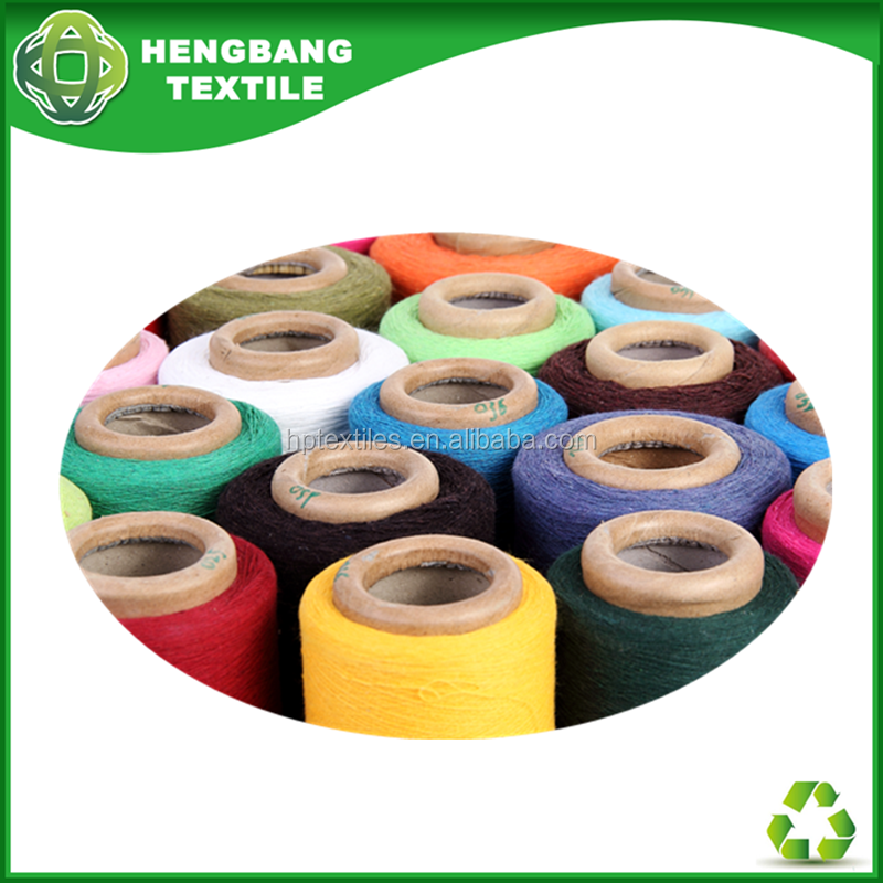Types of 100% recycled oe polyester cotton yarn