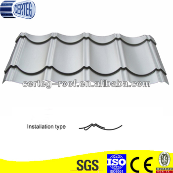 High Quality Galvanized Colour Iron Roof Tile Steel Roof Trusses Prices
