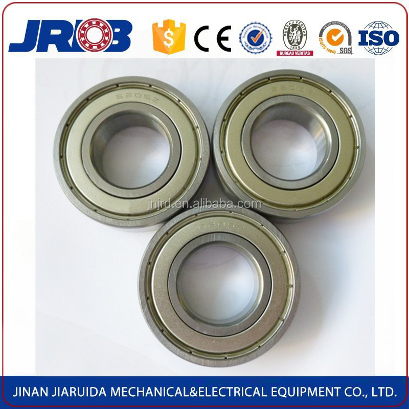 JRDB high precision high temperature resistance bearing 6205 rz for electro-tricycle