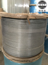 vinyl coated steel wire rope 6mm transparent color