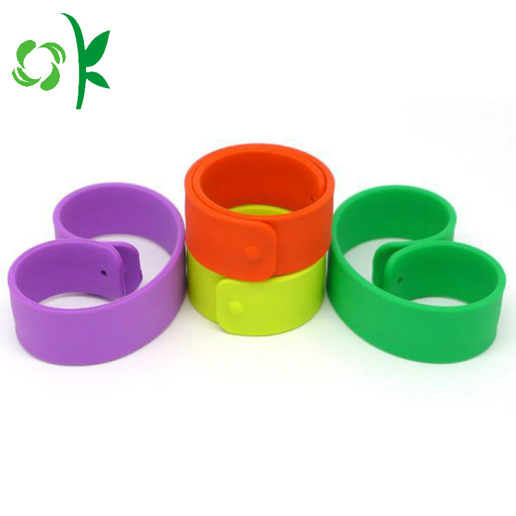 China Export Products High Quality Low Price Silicone Slap Band