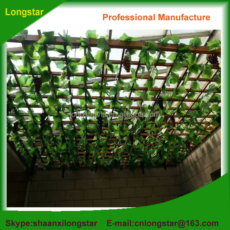 Plastic artificial plants leaves decoration for indoor&outdoor