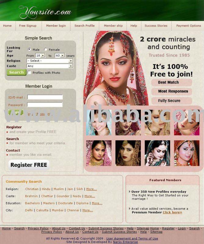 free matrimonial dating sites