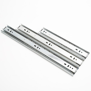 3 fold telescopic drawer channel for kitchen cabinet drawer slide channel